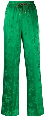 Essentiel Antwerp Drawstring Floral Pattern Trousers