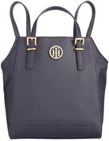 Tommy Hilfiger Honey Saffiano Backpack Tote