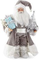 North Pole Trading Co. 18 Gray/White Santa