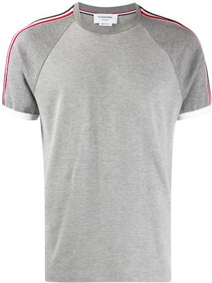 Thom Browne pique short raglan sleeve T-shirt