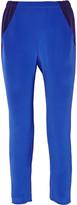 Zero Maria Cornejo Tabi color-block silk straight-leg pants