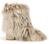 Maison Margiela fur ankle boots - women - Leather/Alpaca - 36