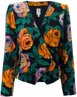 Emanuel Ungaro Pre Owned Floral Blazer