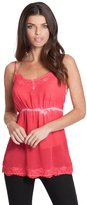 GUESS Women's Washed Lace Cami