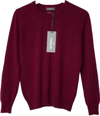 N.Peal N. Peal Burgundy Cashmere Knitwear