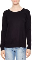 Sandro Ipolit Silk-Back Sweater