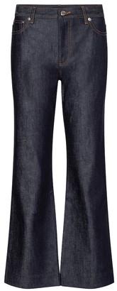 A.P.C. Sailor high-rise wide-leg jeans