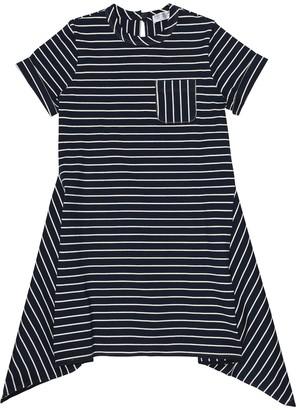 BRUNELLO CUCINELLI KIDS Striped cotton dress