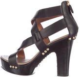 Givenchy Platform Leather Sandals