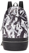 Z Zegna Popline Leather Backpack