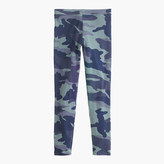 J.Crew Girls' everyday leggings in camo