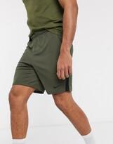 Nike Training dry shorts in khaki