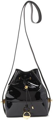 Emilio Pucci Bonita Patent-leather Bucket Bag