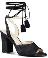 Nine West 'Bellermo' Wraparound Tassel Tie Sandal