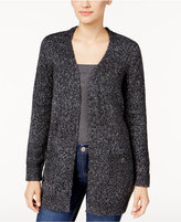Karen Scott Marled Pocket Cardigan, Only at Macy's
