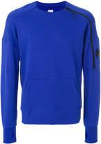 C.P. Company zipped sleeve sweatshirt