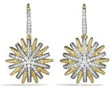 David Yurman Starburst Drop Earrings with Diamonds in Gold