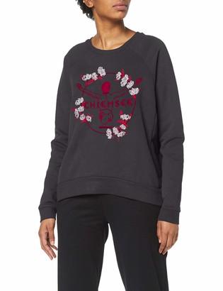 Chiemsee Women's Boxy-Shape mit Stickerei Sweatshirt
