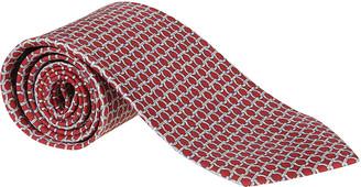 Salvatore Ferragamo Motif Print Neck Tie