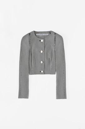 Collection Shrunken Zip Jacket