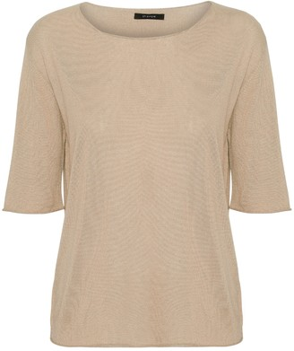 Oh Simple - Sandstone Silk Cashmere Knit - xs
