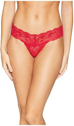 Cosabella Never Say Never Cutie Lowrider Thong (Mystic Red) Women's Underwear