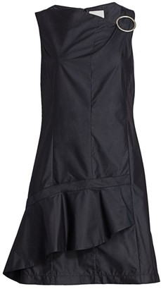 3.1 Phillip Lim Asymmetrical Ruffe Mini Dress