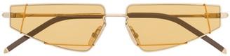 Fendi Geometric Tinted Cat-Eye Sunglasses