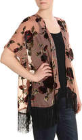 David & Young Blushing Velvet Kimono - Women's