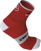 Castelli Men's Rosso Corsa 9 Cycling Socks 35364