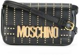 Moschino studded crossbody bag - women - Leather - One Size