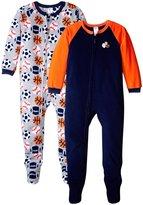 Gerber 2 Pack Blanket Sleepers (Toddler) - Big Sports - 2T