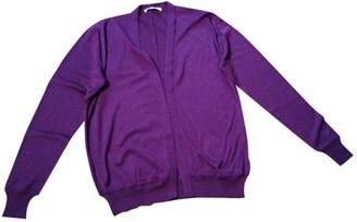 Bally Purple Silk Knitwear for Women