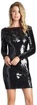Dress the Population Women's 'Lola' Backless Sequin Minidress