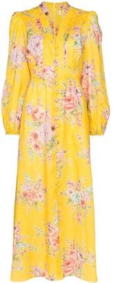Zimmermann Zinnia floral print maxi dress