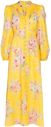 Zimmermann Zinnia floral print maxi dress