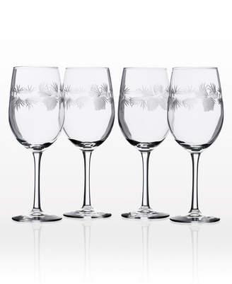 Rolf Glass Icy Pine White Wine 12Oz - Set Of 4 Glasses
