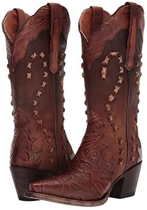 Dan Post Nikola (Tan) Cowboy Boots