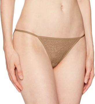 DKNY Women's Modern lace Trim Bikini