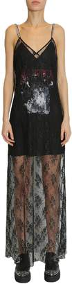 McQ long lace dress