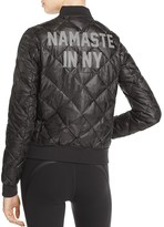 Alo Yoga Idol Graphic Bomber Jacket