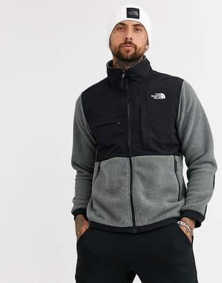 The North Face Denali jacket in charcoal grey