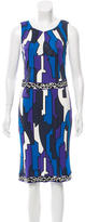 Emilio Pucci Geometric Print Midi Dress