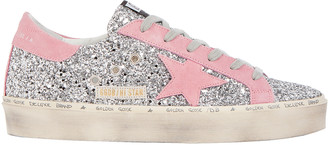 Golden Goose Hi Star Glitter Low-Top Sneakers