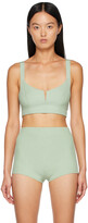 Thumbnail for your product : GAUGE81 Green Tera Bralette