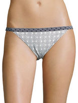Michael Kors Patterned Bikini Swim Bottom