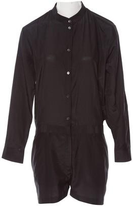 Acne Studios Black Silk Jumpsuits