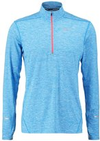 Nike Performance Element Long Sleeved Top Light Photo Blue/bright Crimson/reflective Silver