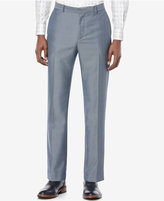 Perry Ellis Men's Iridescent Twill Flat-Front Pants