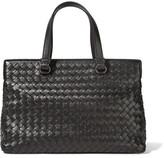 Bottega Veneta Medium Intrecciato Leather Tote - Black